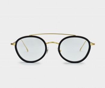 GLASSING_WEARESTEEL_OPTICAL_EDDY_BLACKGOLD_FRONT
