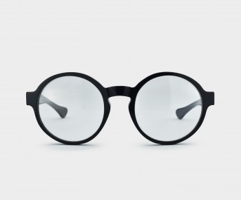 GLASSING_WEARE_OPTICAL_OTTO_BLACK_FRONT
